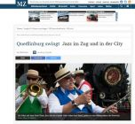 22. Juni 2016 MZ - Quedlinburg swingt - Little Johns Jazz Band gehoert zu den Hoehepunkten des Festivals